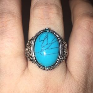 Jewelry - 🆕 Sterling Silver Turquoise Ring